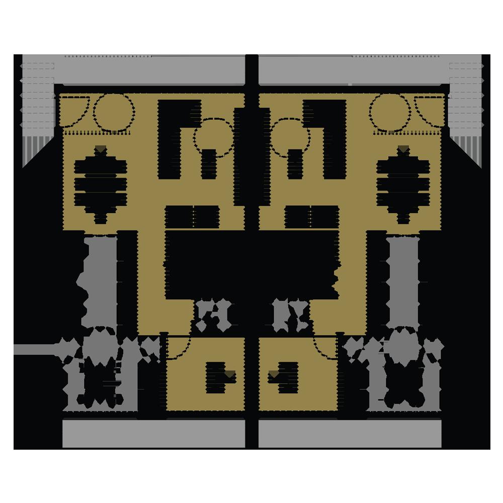 Moradias planta do piso 0 da Joane Residences