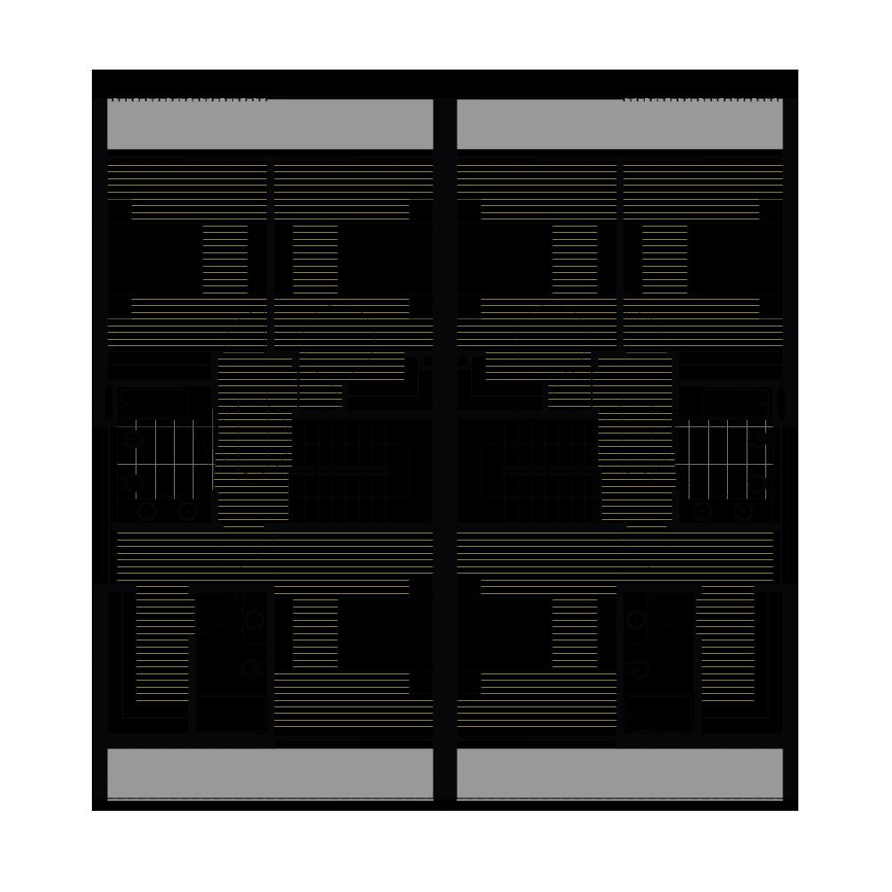 Moradias planta do piso 1 da Joane Residences